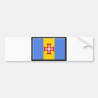 Madeira Islands Flag Bumper Sticker