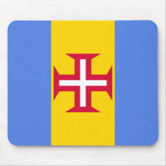 Madeira Islands Flag Mousepad