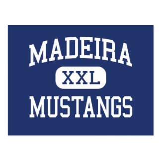 Madeira - Mustangs - High School - Cincinnati Ohio Postcard