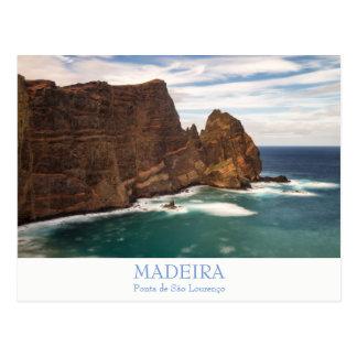 Madeira - Ponta de Sao Lourenco postcard with text