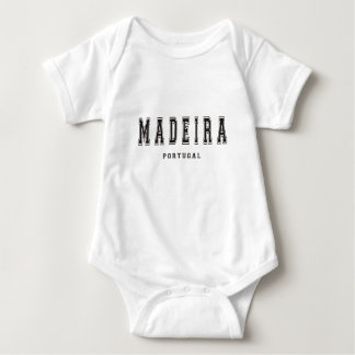 Madeira Portugal Baby Bodysuit