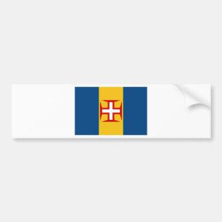 Madeira (Portugal) Flag Bumper Sticker