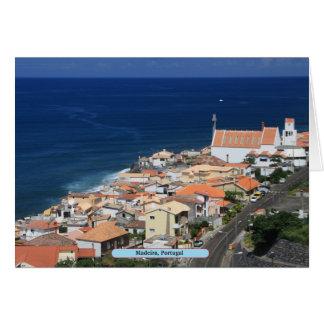 Madeira, Portugal Greeting Card