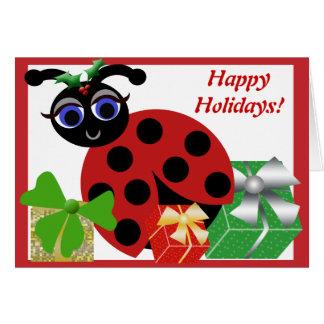 Madeleine Toon Ladybug Holiday Card