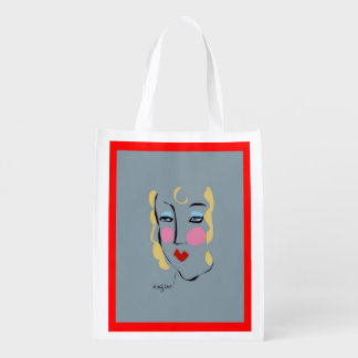 Madeleine Was Mad For Matisse Reusable Market Tote