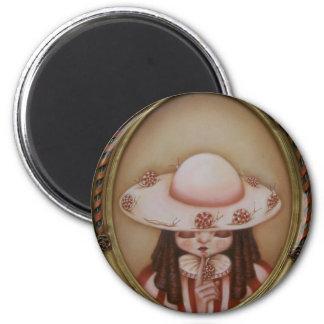Mademoisielle Escargot - magnet