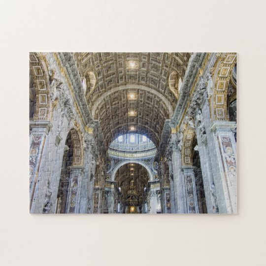 Maderno's Nave Jigsaw Puzzle