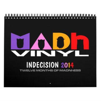 MADh Vinyl 2014 Calendar