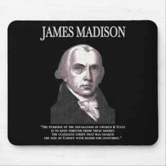 Madison - Church & State Mouse Pad