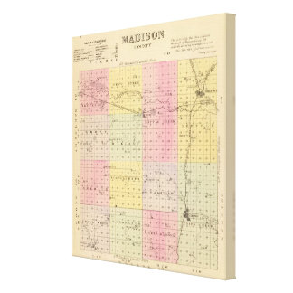 Madison County Canvas Print