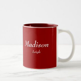 Madison, Leigh Two-Tone Coffee Mug