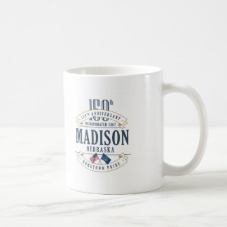 Madison, Nebraska 150th Anniversary Mug