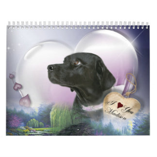 Madison the Black Labrador Wall Calendars