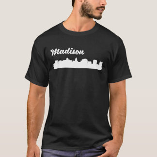 Madison WI Skyline T-Shirt