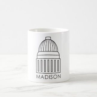 Madison Wisconsin Capitol Building Coffee Mug