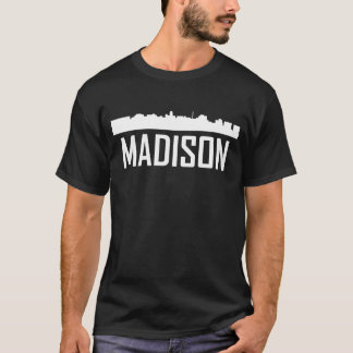 Madison Wisconsin City Skyline T-Shirt