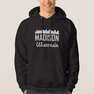 Madison Wisconsin Skyline Hoodie