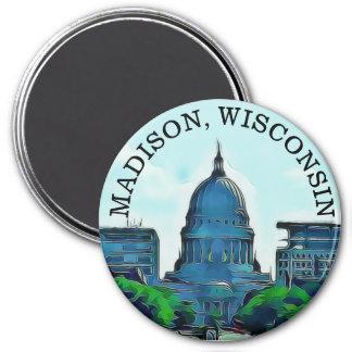 Madison, Wisconsin Souvenir Magnet