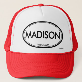Madison, Wisconsin Trucker Hat