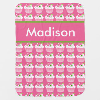 Madison's Personalized Cupcake Blanket