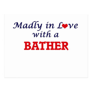 Madly in love with a Bather Postcard