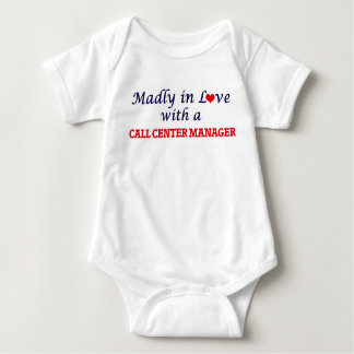 Madly in love with a Call Center Manager Baby Bodysuit