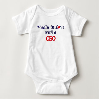 Madly in love with a Ceo Baby Bodysuit
