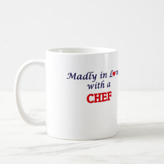 Madly in love with a Chef Coffee Mug
