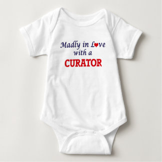 Madly in love with a Curator Baby Bodysuit