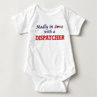 Madly in love with a Dispatcher Baby Bodysuit