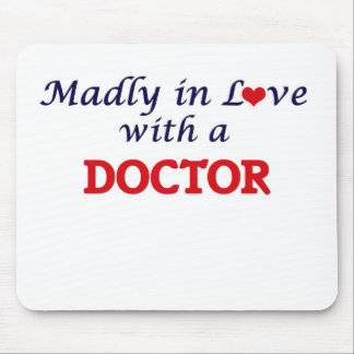 Madly in love with a Doctor Mouse Pad