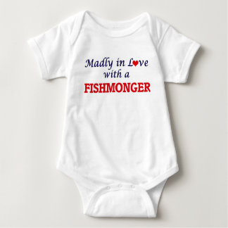 Madly in love with a Fishmonger Baby Bodysuit