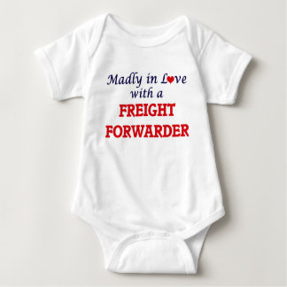Madly in love with a Freight Forwarder Baby Bodysuit