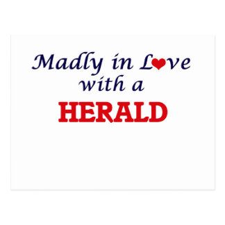 Madly in love with a Herald Postcard