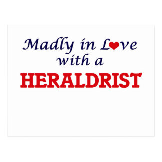 Madly in love with a Heraldrist Postcard