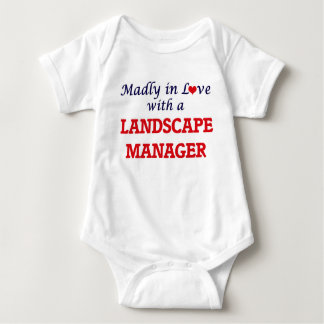 Madly in love with a Landscape Manager Baby Bodysuit