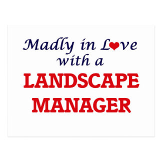 Madly in love with a Landscape Manager Postcard
