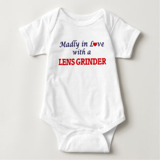 Madly in love with a Lens Grinder Baby Bodysuit