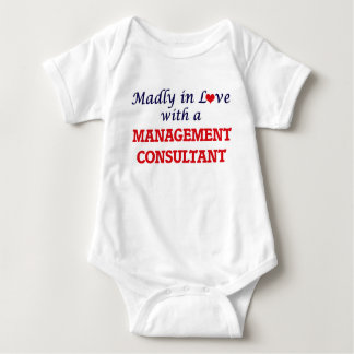 Madly in love with a Management Consultant Baby Bodysuit