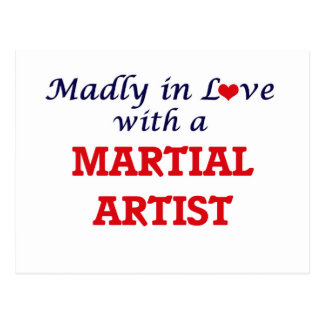 Madly in love with a Martial Artist Postcard