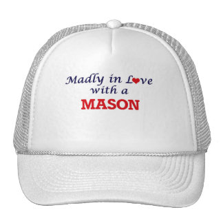 Madly in love with a Mason Trucker Hat