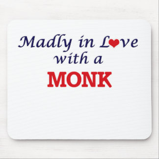 Madly in love with a Monk Mouse Pad