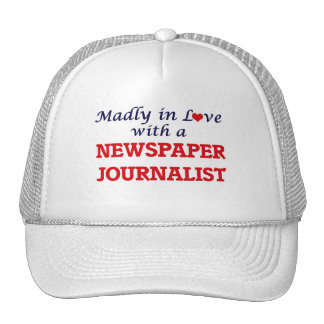 Madly in love with a Newspaper Journalist Trucker Hat