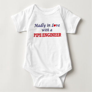 Madly in love with a Pipe Engineer Baby Bodysuit