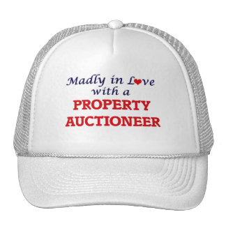 Madly in love with a Property Auctioneer Trucker Hat