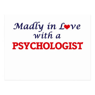 Madly in love with a Psychologist Postcard