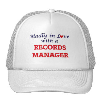 Madly in love with a Records Manager Trucker Hat