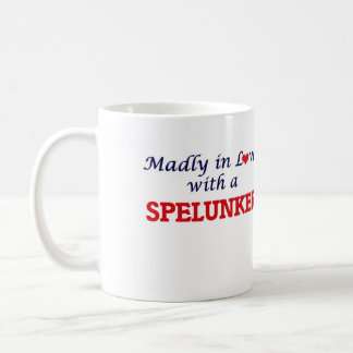 Madly in love with a Spelunker Coffee Mug