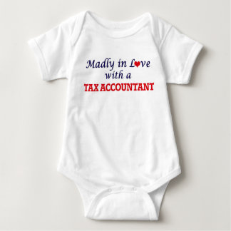Madly in love with a Tax Accountant Baby Bodysuit