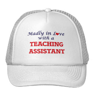 Madly in love with a Teaching Assistant Trucker Hat
